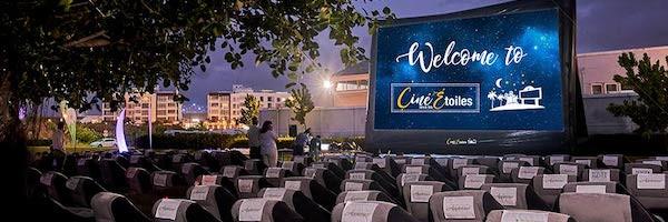 cinema à l'île Maurice Cine974 Ciné Sous Les Étoiles