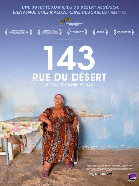 Affiche du film 143 Rue du Désert