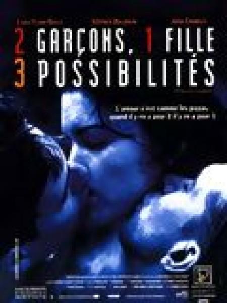 Cine974, 2 garçons, 1 fille, 3 possibilités