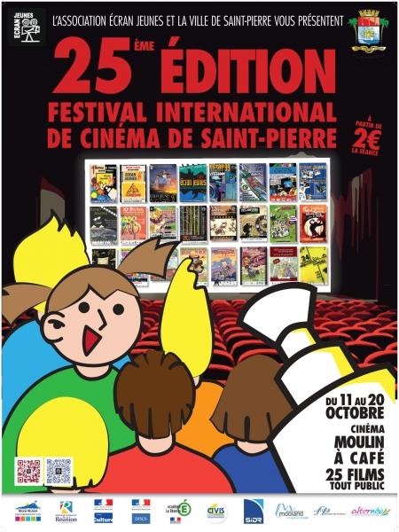 25ème Edition du Festival International de Cinéma de la ville de Saint-Pierre