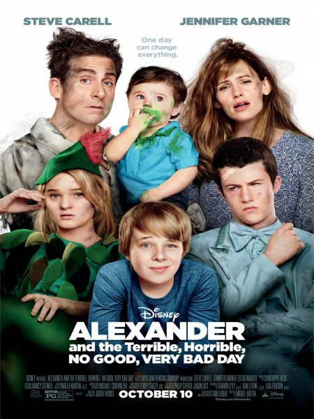 Cine974, Alexander and the Terrible, Horrible, No Good, Very Bad Day
