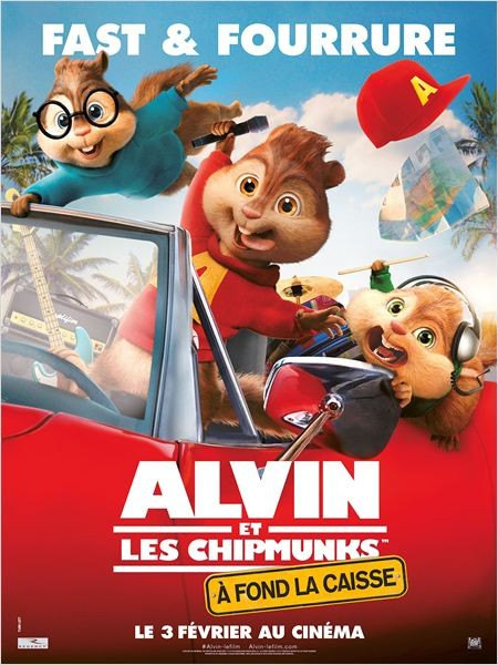 Cine974, Alvin et les Chipmunks - A fond la caisse