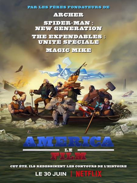 Cine974, America : Le Film