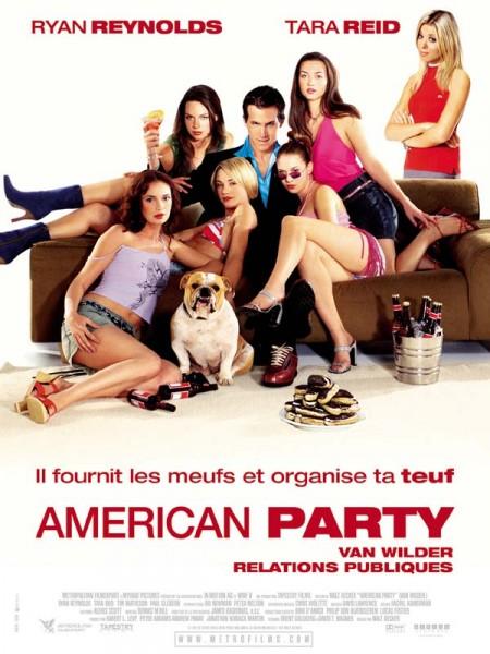 Cine974, American party - Van Wilder relations publiques