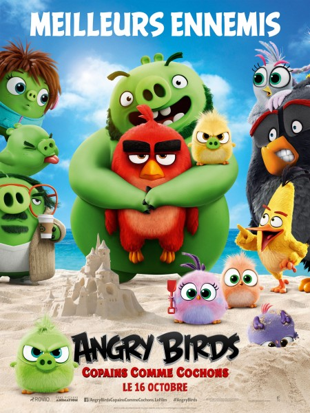 Cine974, Angry Birds : Copains comme cochons