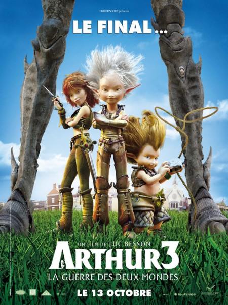 Cine974, Arthur 3 La Guerre des Deux Mondes