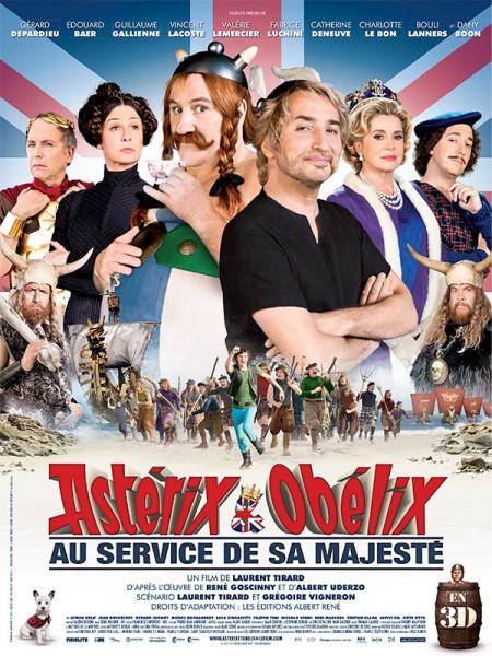 Cine974, Astérix et Obélix : au service de Sa Majesté