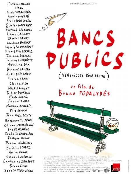 Cine974, Bancs publics (Versailles rive droite)