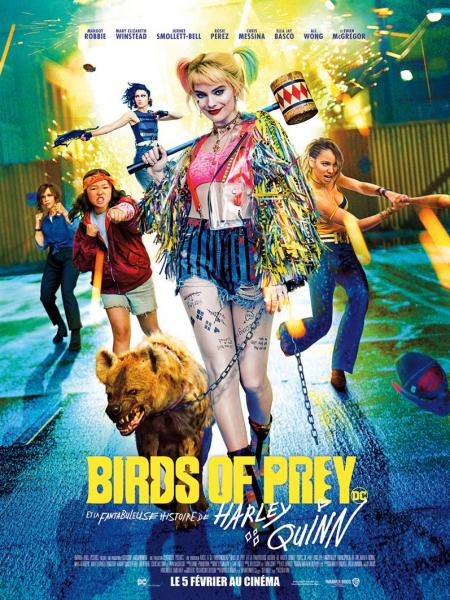 Cine974, Birds of Prey et la fantabuleuse histoire de Harley Quinn