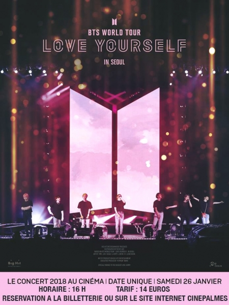 Cine974, BTS WORLD TOUR: LOVE YOURSELF IN SEOUL