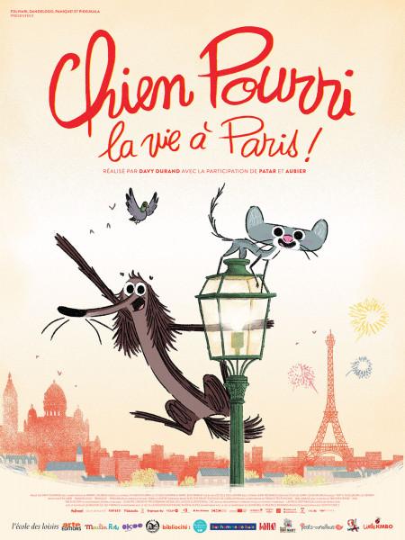 Cine974, Chien Pourri, la vie à Paris !