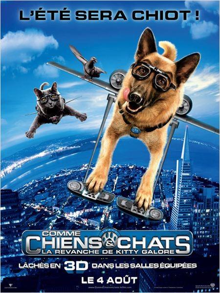 Cine974, Comme chiens et chats - La Revanche de Kitty Galore