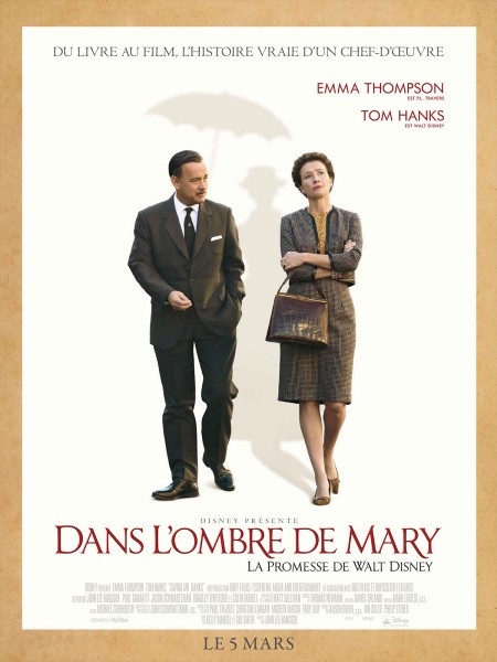 Cine974, Dans l'ombre de Mary - La promesse de Walt Disney