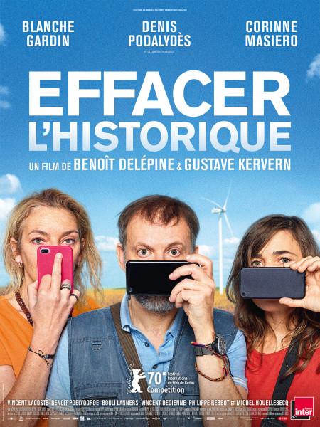 Cine974, Effacer l'historique