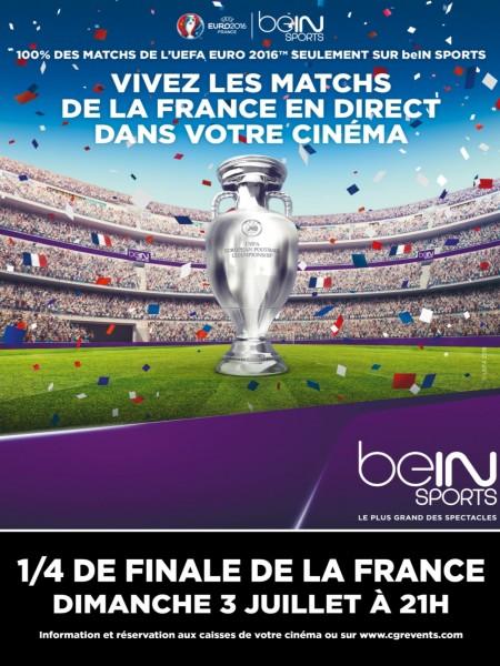 Cine974, Euro 2016 : 1/4 de Finale (CGR Events)