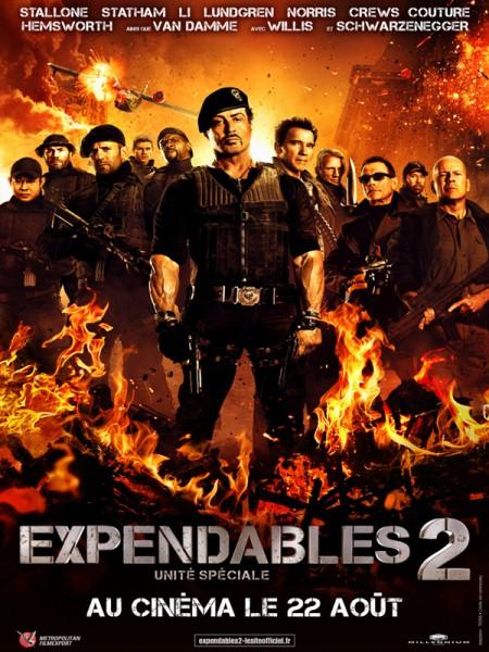 Cine974, Expendables 2: unité spéciale