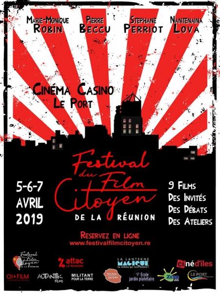 Cine974, Festival du Film Citoyen de La Réunion 2019