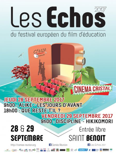 Cine974, FESTIVAL DU FILM DE L'EDUCATION A SAINT-BENOIT