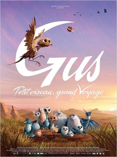 Cine974, Gus petit oiseau, grand voyage