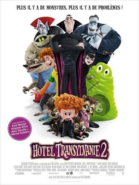 Cine974, Hôtel Transylvanie 2