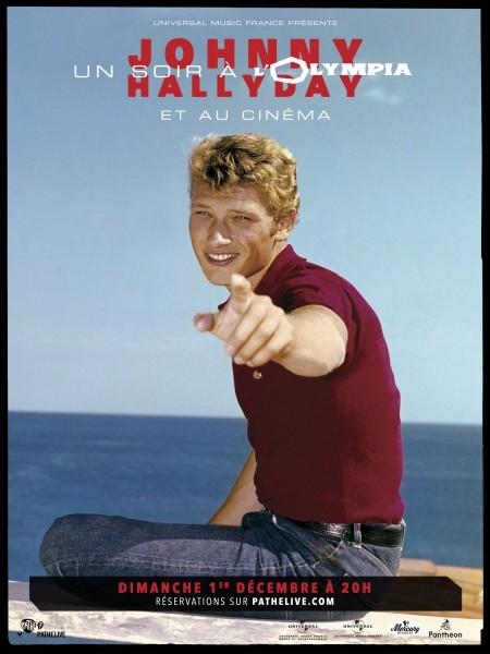 Cine974, Johnny Hallyday : Un soir à l'Olympia
