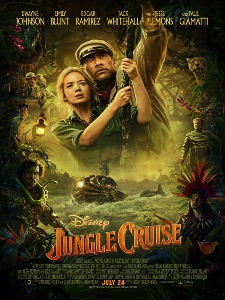 Affiche du film Jungle Cruise