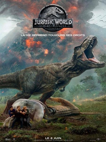 Cine974, Jurassic World 2: Le Royaume Déchu
