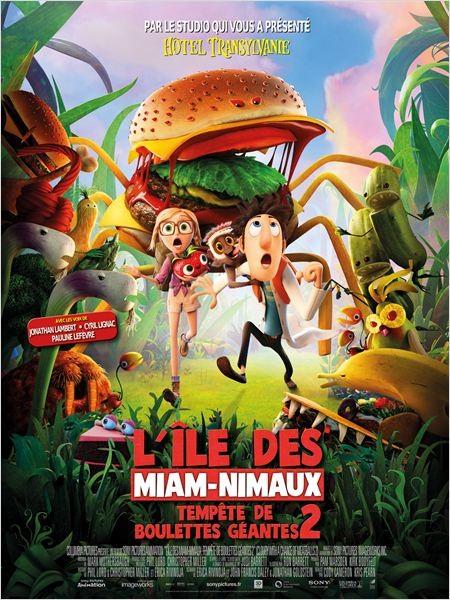 Cine974, L'ILE DES MIAM-NIMAUX : TEMPETE DE BOULETTES GEANTES 2