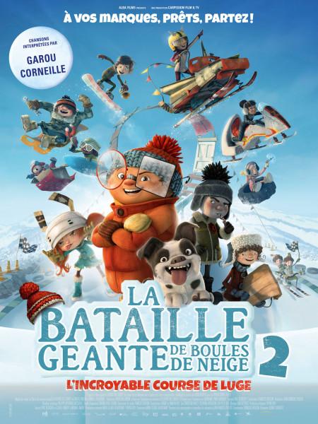 Cine974, La Bataille géante de boules de neige 2, l'incroyable course de luge
