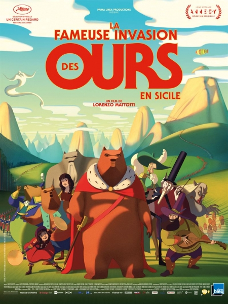 Cine974, La Fameuse invasion des ours en Sicile