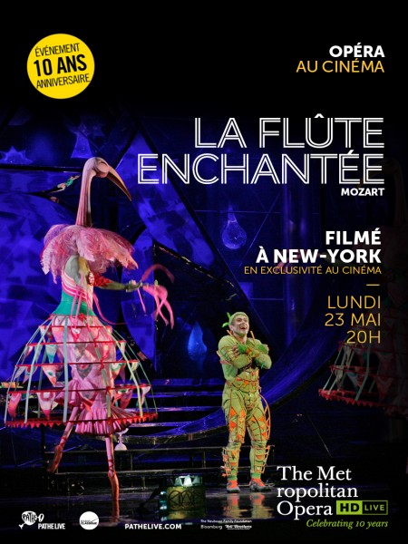 Cine974, LA FLÛTE ENCHANTÉE (PATHÉ LIVE)