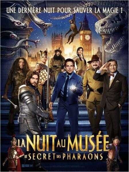 Cine974, La Nuit au musée : Le Secret des Pharaons