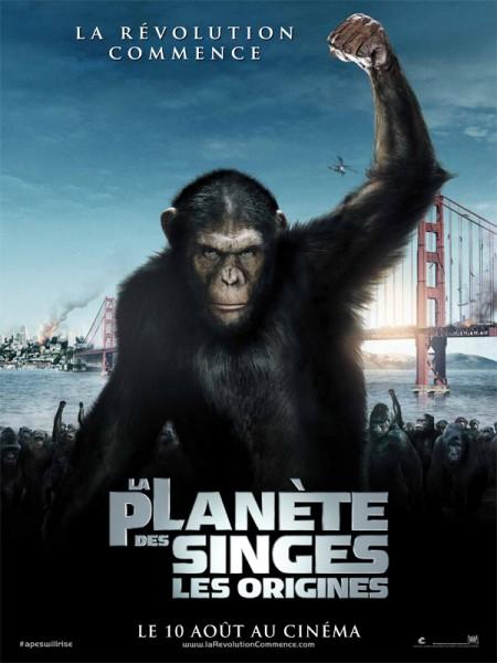 Cine974, La Planète des singes : les origines