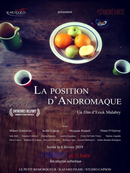 Cine974, La Position d'Andromaque