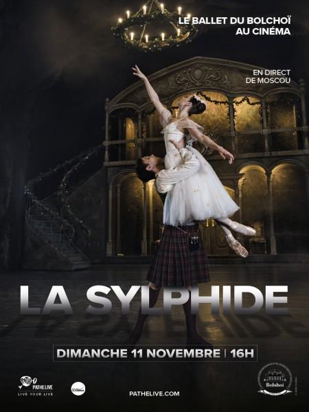 Cine974, La Sylphide (Bolchoï - Pathé Live)