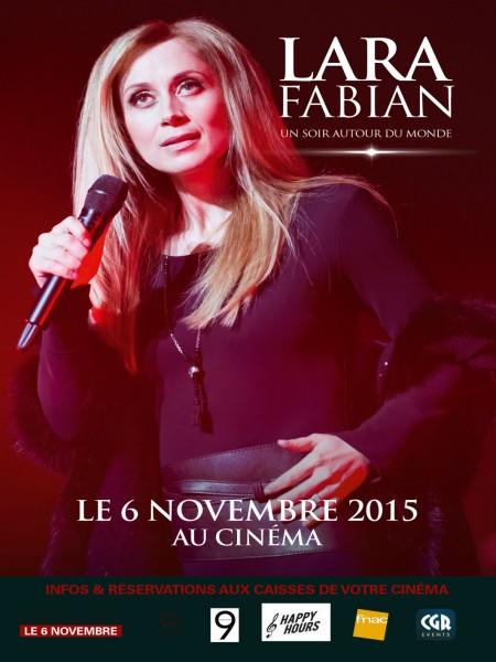 Cine974, Lara Fabian - Un soir autour du monde