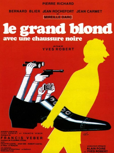 Cine974, Le Grand Blond avec une chaussure noire
