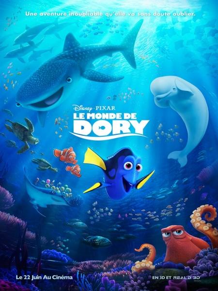 Cine974, Le Monde de Dory