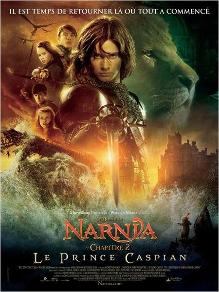 Cine974, Le Monde de Narnia : Chapitre 2 - Le Prince Caspian