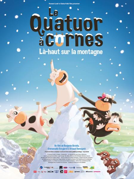 Cine974, Le Quatuor à cornes Là-haut sur la montagne