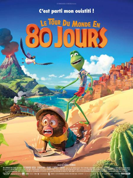 Affiche du film Le Tour du monde en 80 jours