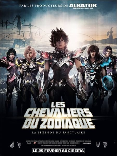Cine974, Les Chevaliers du Zodiaque - La Légende du Sanctuaire