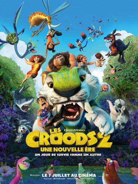Cine974, Les Croods : Une Nouvelle Ère