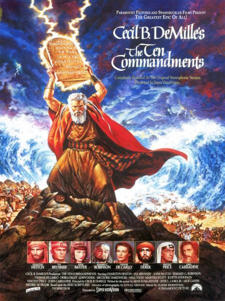 Cine974, Les Dix commandements