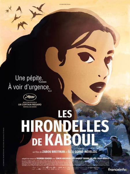 Cine974, Les Hirondelles de Kaboul