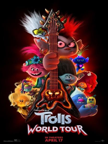 Cine974, Les Trolls 2 - Tournée mondiale