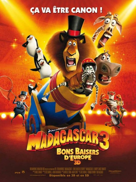 Cine974, Madagascar 3, Bons Baisers D'Europe