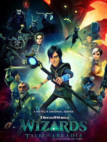 Cine974, Mages et Sorciers : Les Contes d'Arcadia