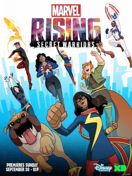 Cine974, Marvel Rising: Secret Warriors