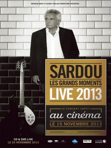 Cine974, Michel Sardou - live 2013 (Côté Diffusion)